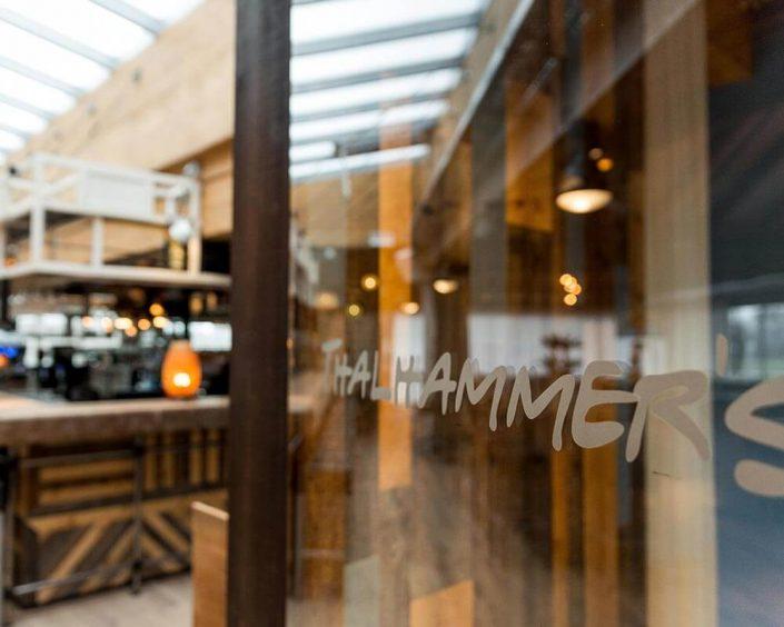 THALHAMMERs Location Eingangsbereich